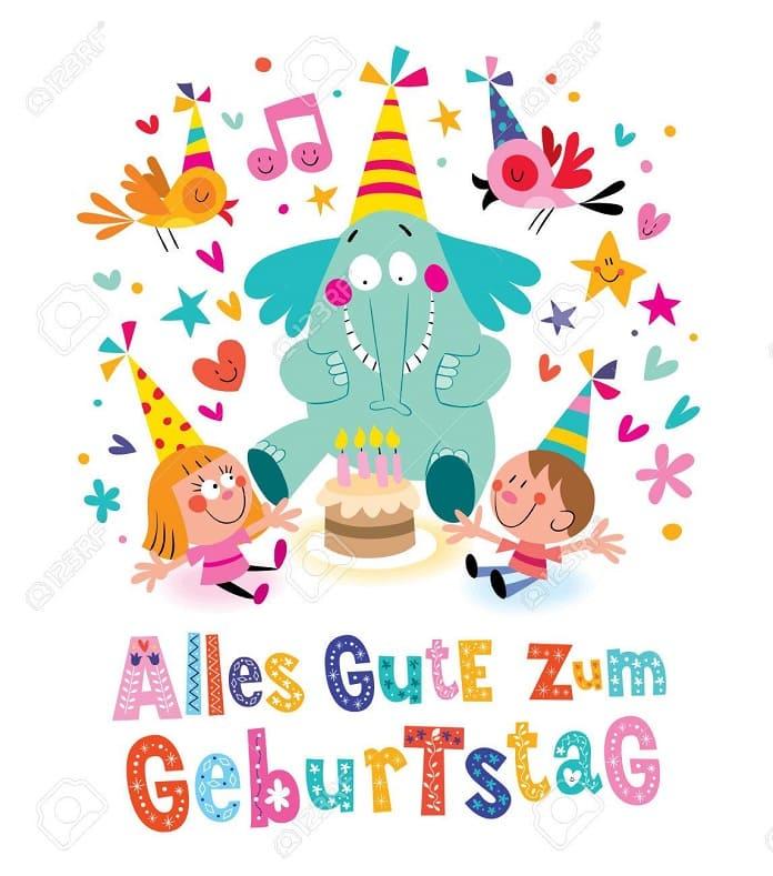 Te deseo un feliz cumpleanos aleman
