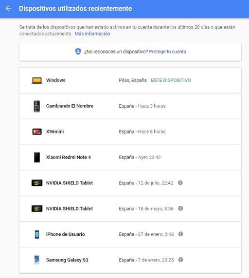 Cómo Saber Los DISPOSITIVOS VINCULADOS A Mi Cuenta De Gmail