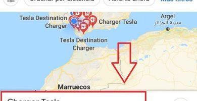 localizador de puntos de recarga de coches eléctricos