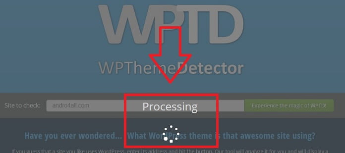 como saber un tema de una web en wordpress