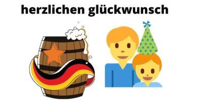 feliz cumpleaños en aleman