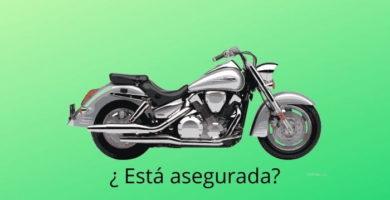 saber si mi moto tiene seguro.