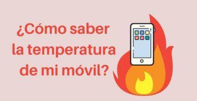 temperatura del móvil