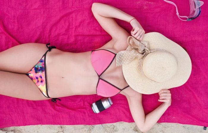 Bikini para espalda ancha