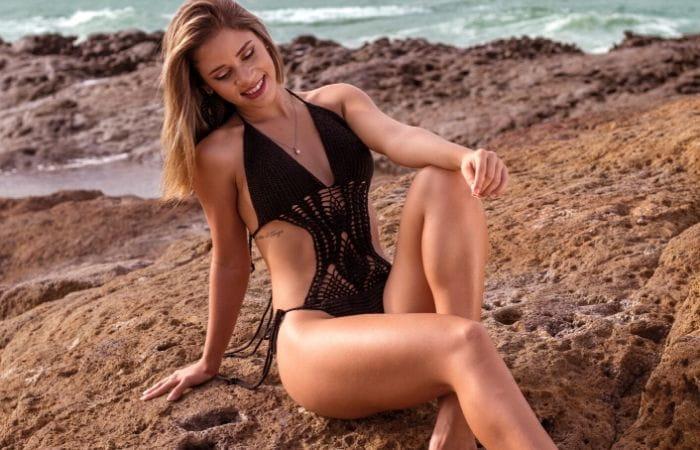 Bikini para cuerpo rectangular